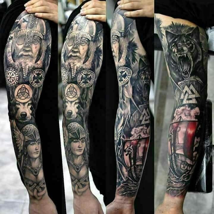 155 Kick Ass Sleeve Tattoos For Men Women Wild Tattoo Art A sleeve can be themed and pieced together by several images and designs. kick ass sleeve tattoos for men women