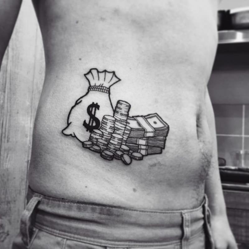 125 Money Tattoos To Show Your Swag Wild Tattoo Art Want to see more posts tagged #tattoo money? 125 money tattoos to show your swag