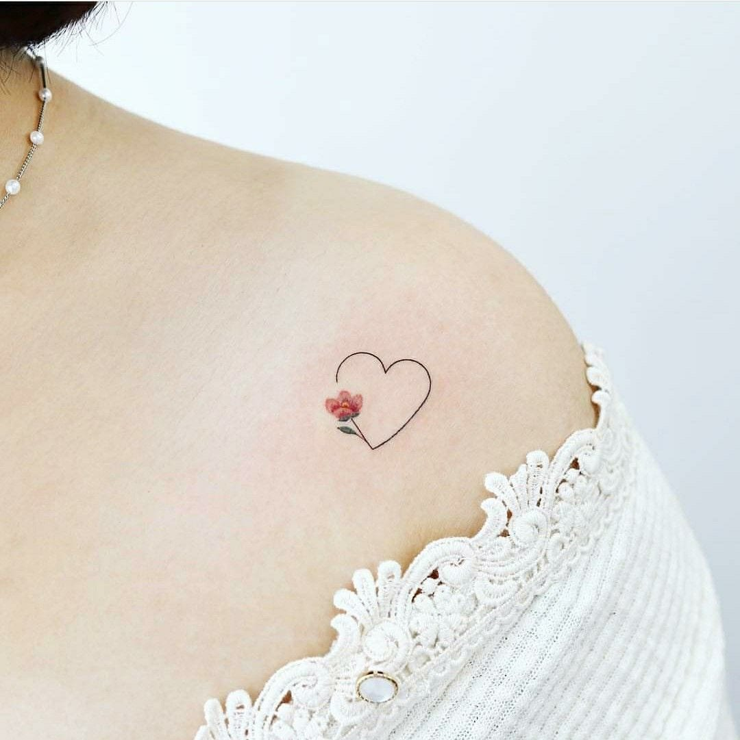 Heart on the Shoulder tattoo