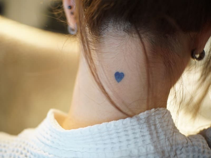 Symbolic Heart Tattoo