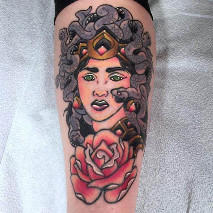 125 Medusa Tattoo Concepts that Are as Mysterious as Ever