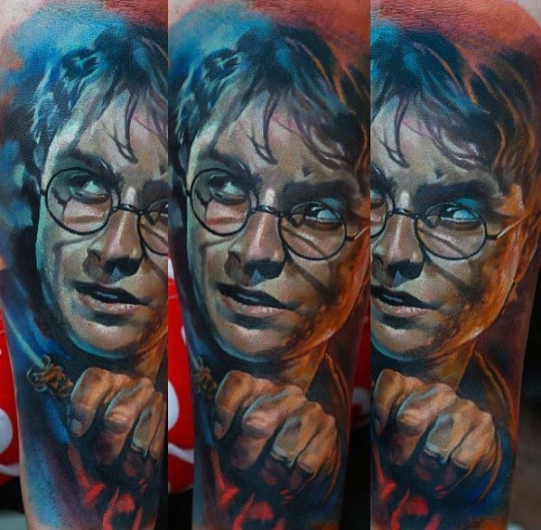Character Portrait Tattoos
