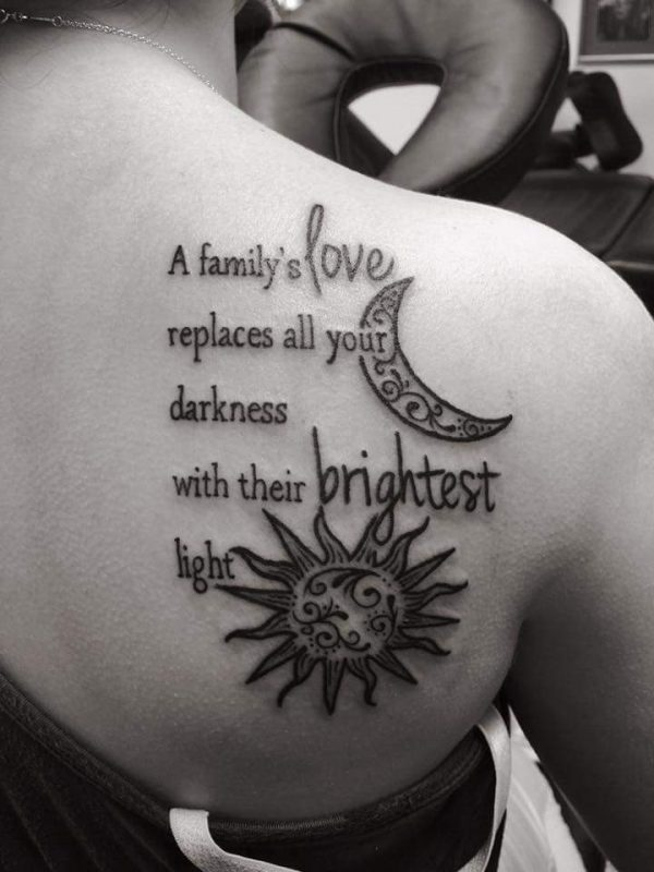 Family Quote Tattoo
